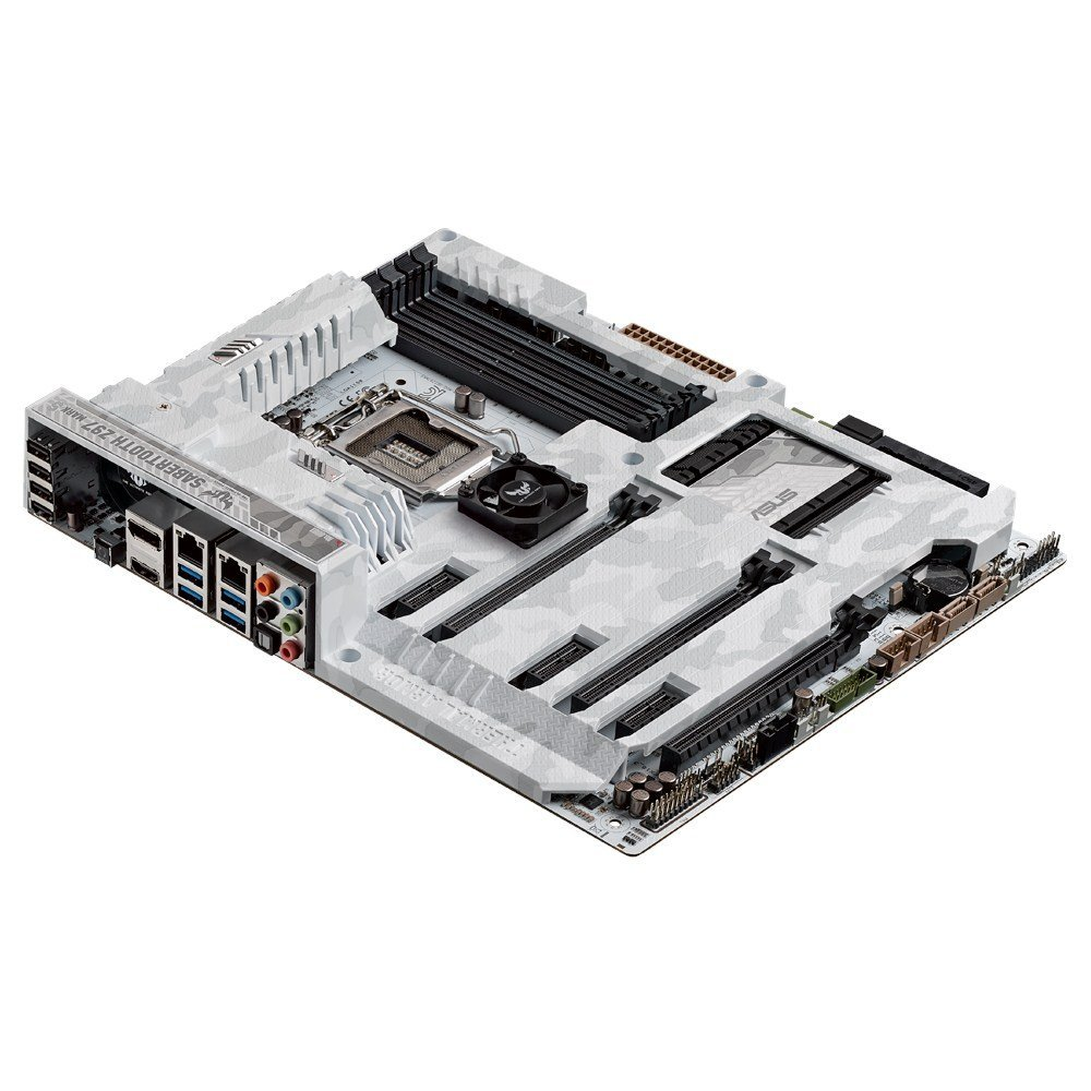 ASUS Certified by Military Standard Motherboard - LGA1150 DDR3 SATA 6Gb/s USB 3.0 Intel Z97 ATX Motherboard With Flexible Cooling System And Thermal Armor
