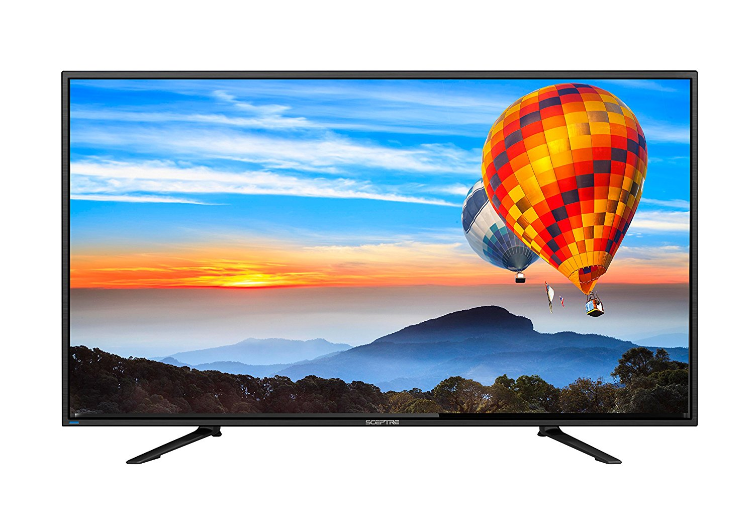 "Sceptre 65"" 4K Ultra HD LED TV – Black (2018) with Blur Eliminating MEMC 120 Technology"