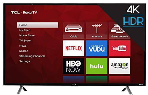 TCL 4K Ultra HD Roku Smart LED TV
