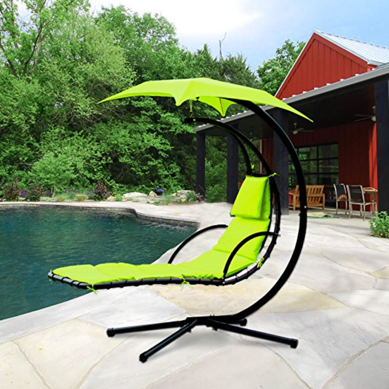 Cloud Mountain Hanging Chaise Lounger