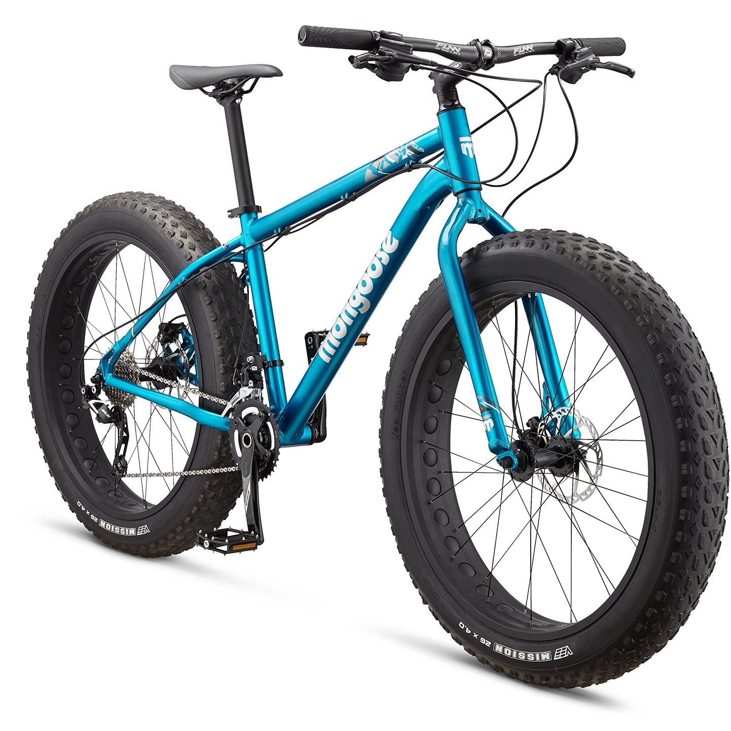 Mongoose Argus Mountain Bicycle – Fat Bike Style