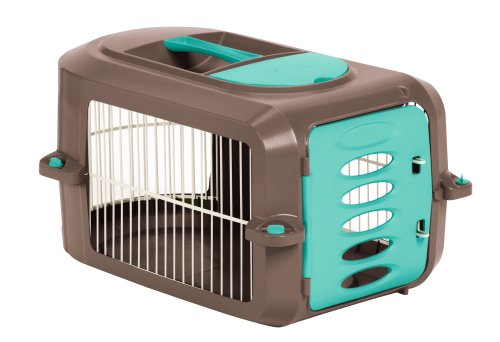 Suncast Deluxe Pet Carrier for Dogs, Cats and Small Animals