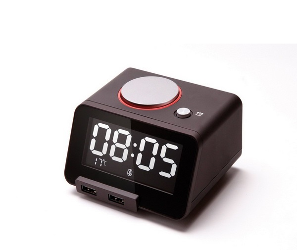 Homtime C1 Pro Digital Alarm Clock with Dual USB Charger