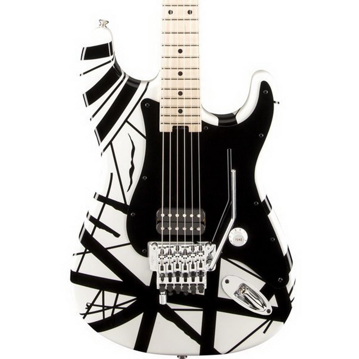 EVH Striped Series Stratocaster Electric Guitar