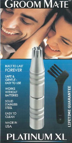 Groom Mate Platinum Nose & Ear Hair Trimmer