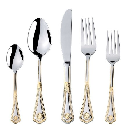Florentia Collection 'Seashell' Luxury Flatware Set