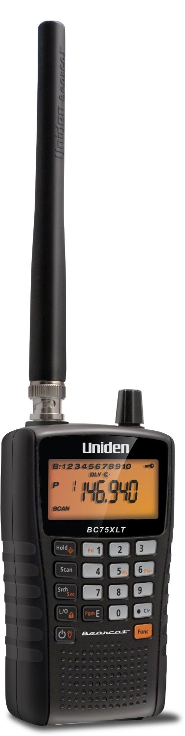 Uniden 300-Channel Handheld Radio Scanner With Close Call RF Capture Technology