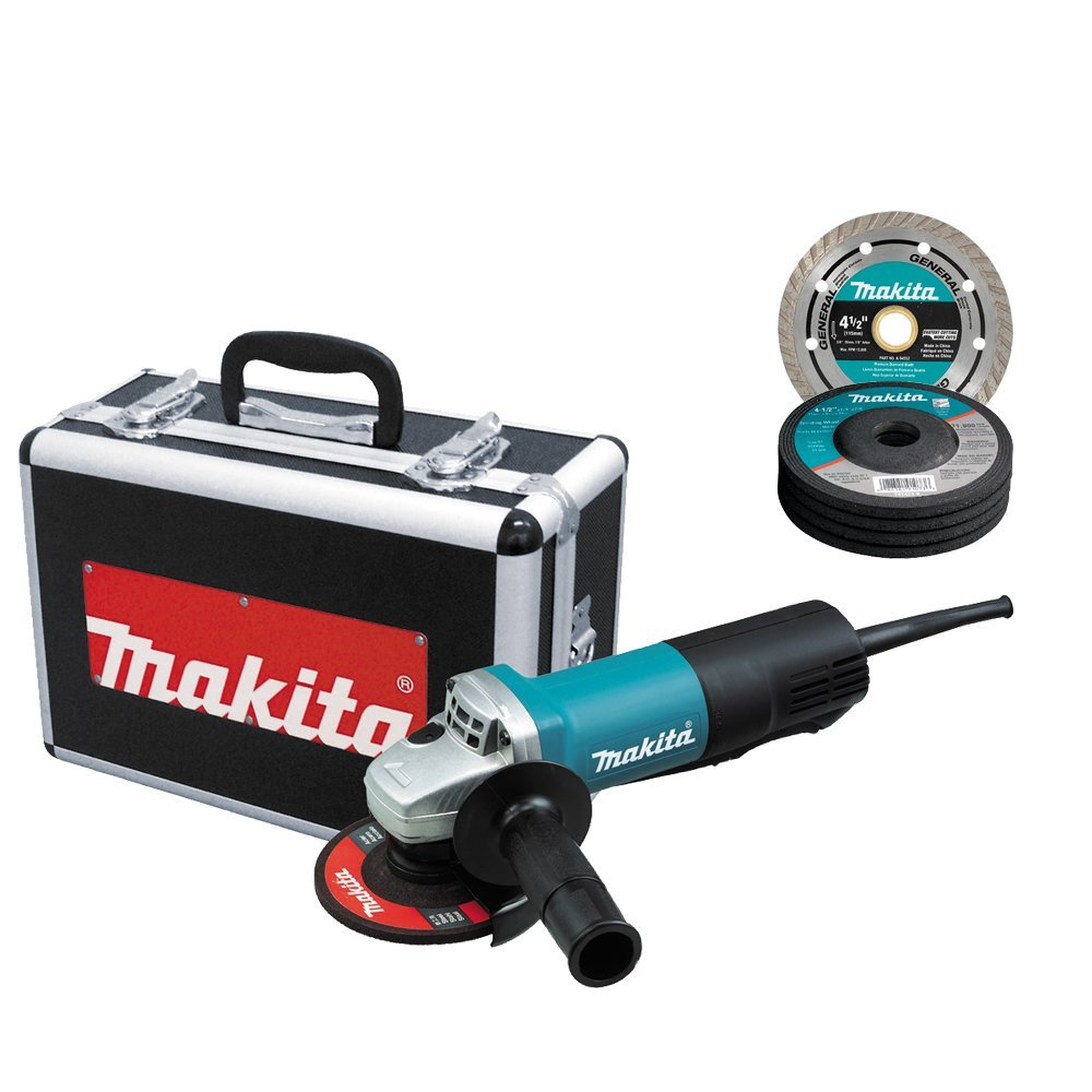 Makita 4-1/2-Inch Angle Grinder with Super Joint System Technology, 12.0 AMP Motor and Soft Start Feature