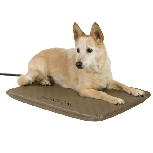 K&H Pet Products Lectro Soft Outdoor Heated Bed™ -  Internal Thermostat, Available In Small, Medium & Large Dog Bed Sizes