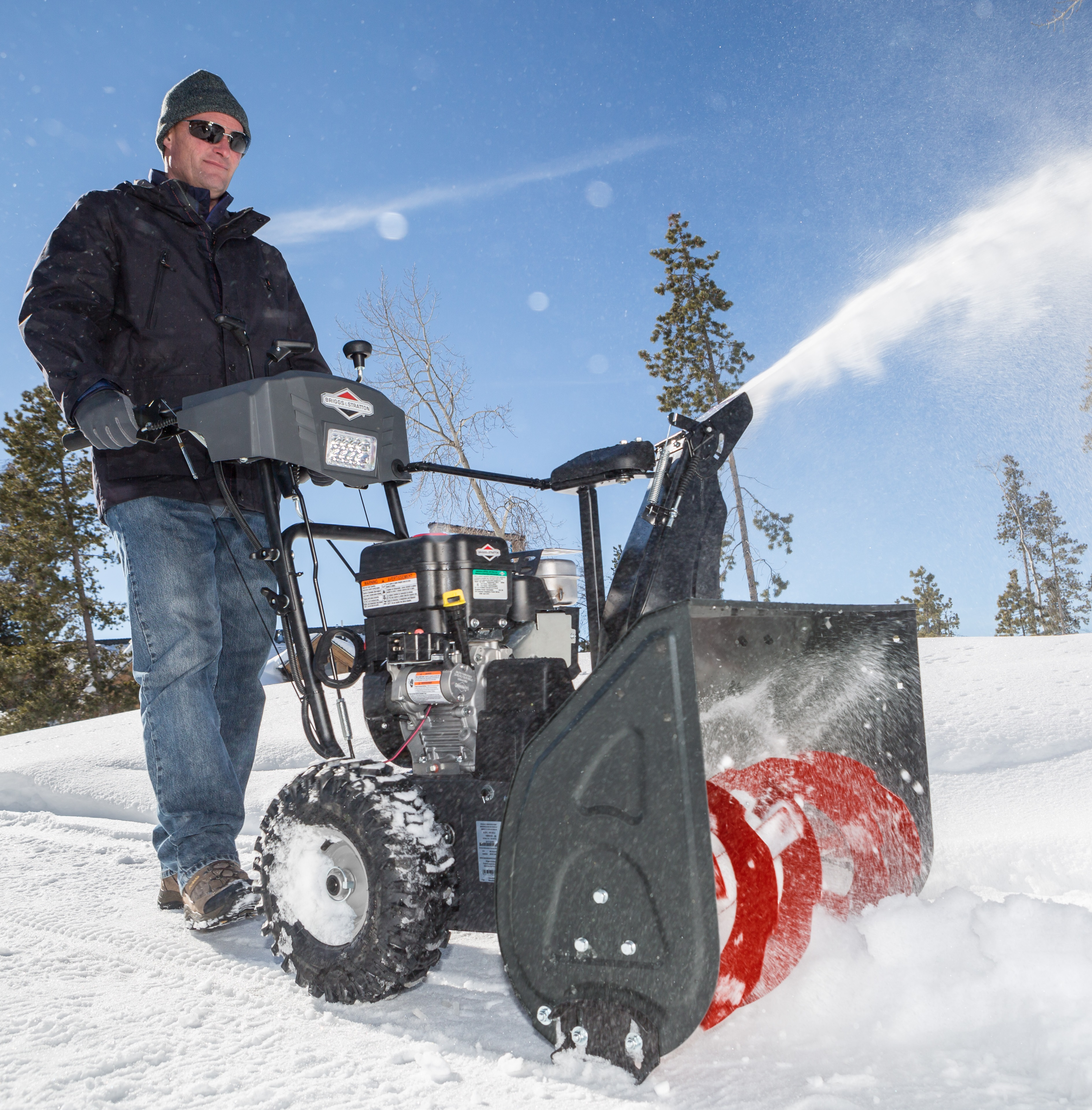 Briggs and Stratton Dual-Stage Snow Thrower