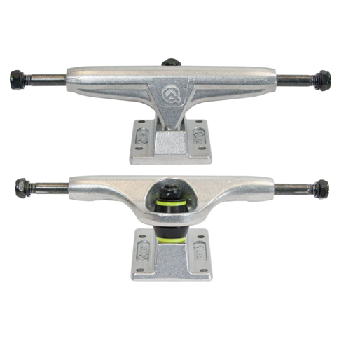 "Quest Boards 5.25"" Double Barrel Skateboard Truck Set"