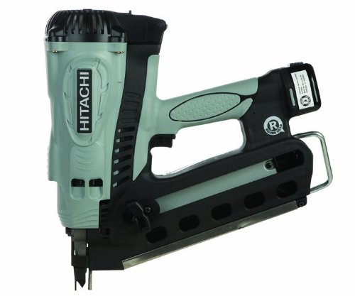 Hitachi Cordless Framing Nailer Gas Powered Plastic Strip Coated