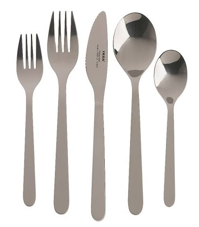 Ikea FÖRNUFT 20 Piece Flatware Set – Affordable Everyday Flatware