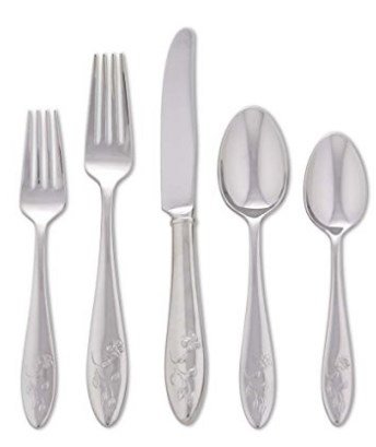 Lenox Butterfly Meadow® 5 Piece Flatware Set