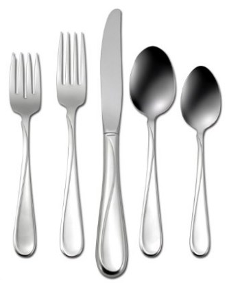 Oneida Flight 45 Piece Casual Flatware Set
