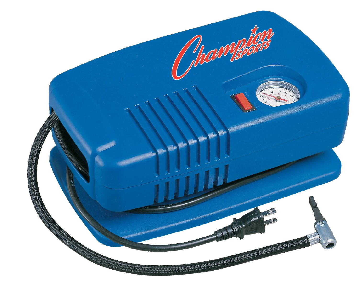 Champion Sports Deluxe Electric Equipment Inflating Pump