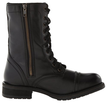 Steve Madden Women's Combat/Military Boot Troopa 2.0