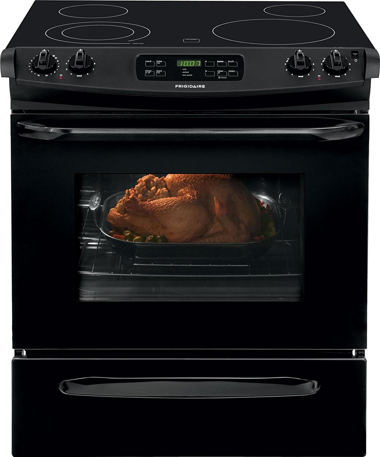 Frigidaire 30-inch Slide-In Electric Range