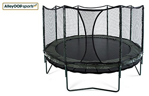 JumpSport 14' AlleyOOP DoubleBounce System with Integrated Safety Enclosure