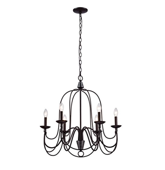 CLAXY Ecopower Vintage Chandelier Light