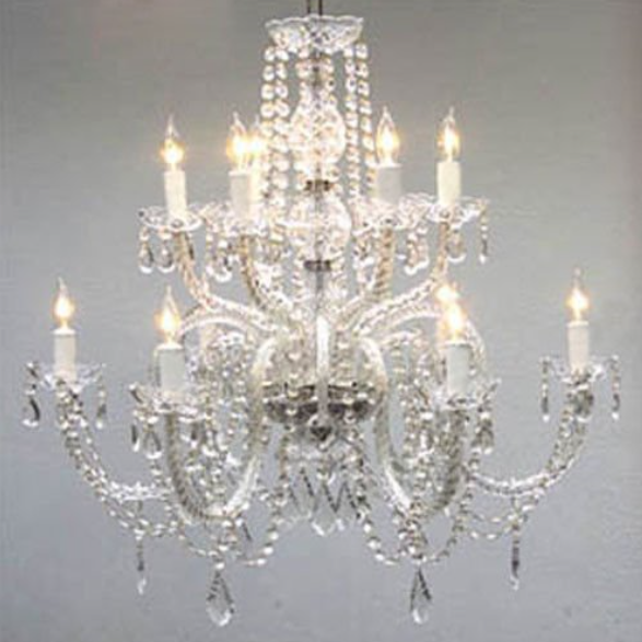 Gallery Lighting Crystal Chandelier