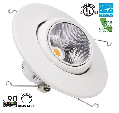 Torchstar Directional Dimmable LED Recessed Lighting Fixture