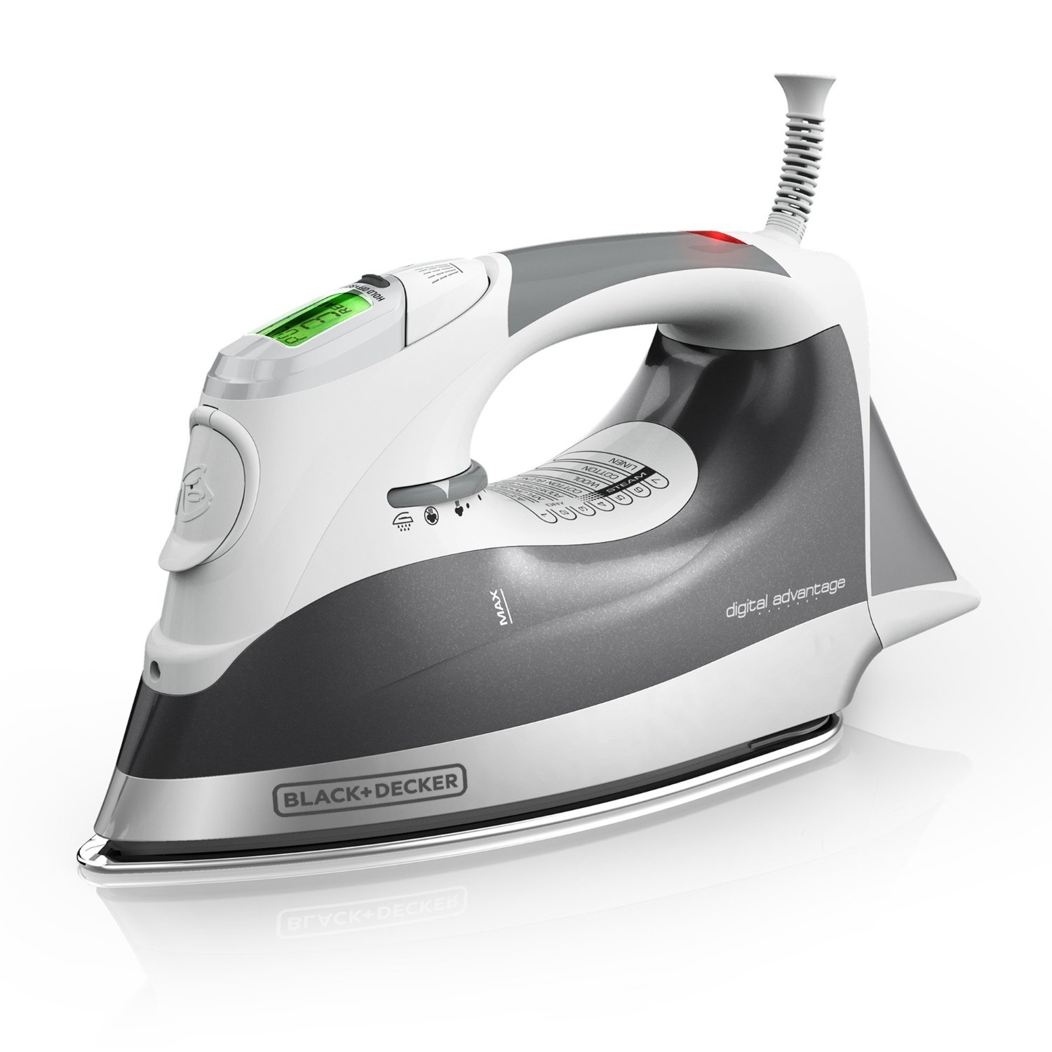 Black and Decker Digital Advantage™ Professional Steam Iron with Auto-Off