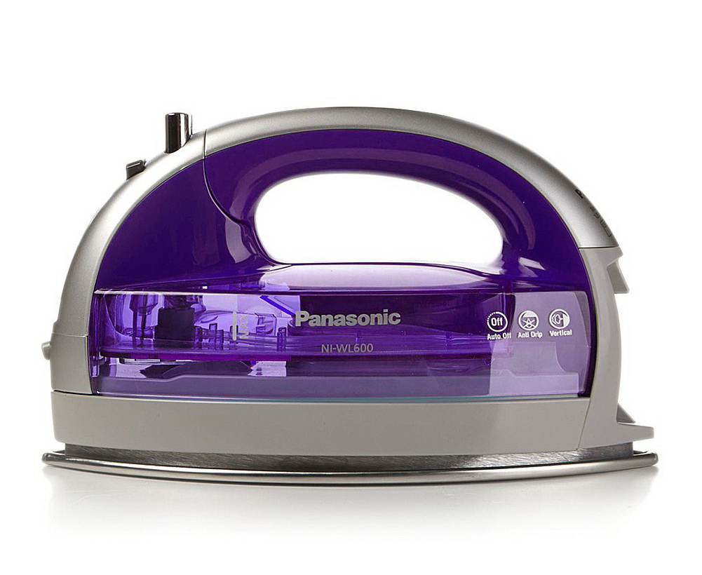 Panasonic 360º Freestyle Cordless Iron with Carrying Case