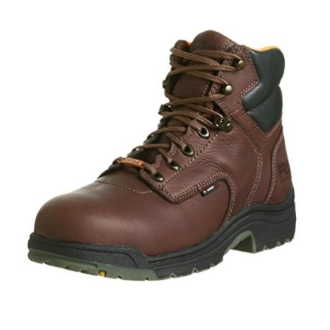 "Timberland PRO Men's 26078 Titan 6"" Waterproof Safety-Toe Work Boot With Lightweight Design"