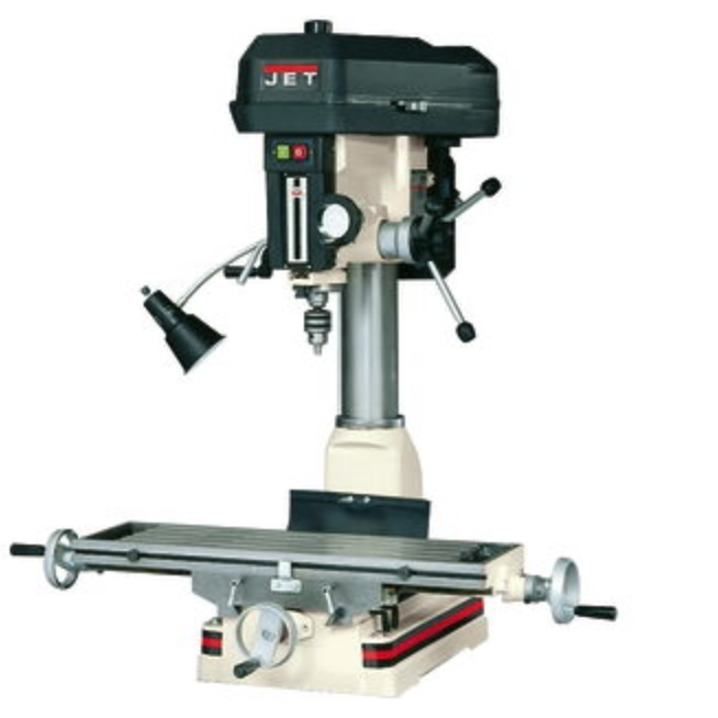 Jet Mill/Drill With R-8 Taper