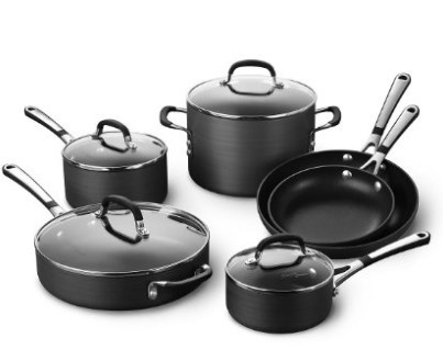 CalphalonSimply Nonstick Cooking Set