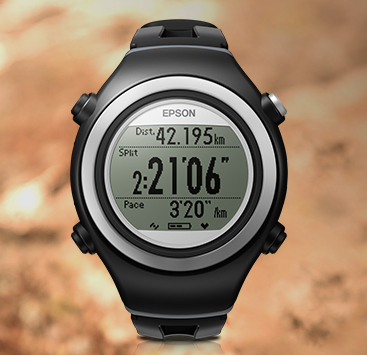 Epson Runsense SF-810 Waterproof GPS Watch with HR Monitor