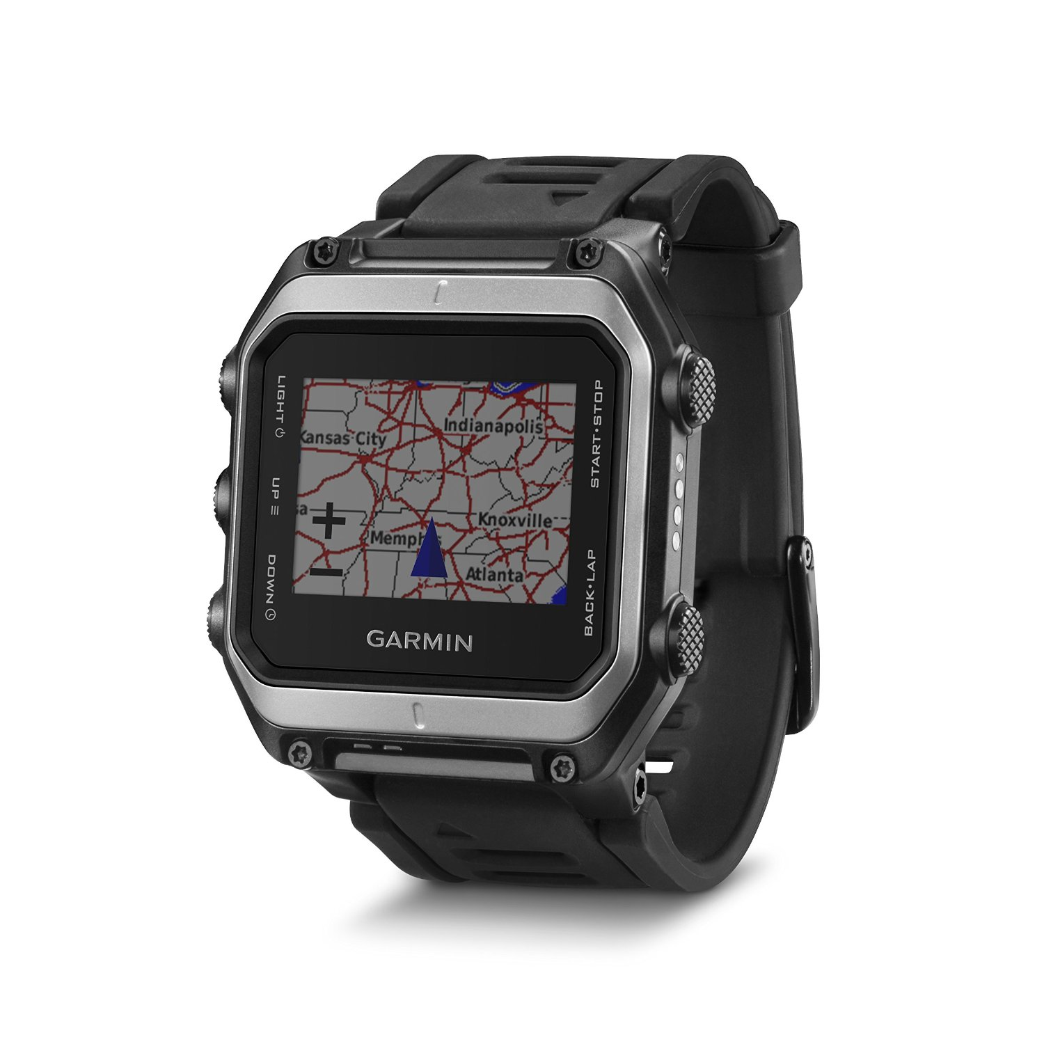 Garmin Epix GPS Watch with Real Time Mapping - Preloaded US TOPO Maps and Smart Notifications