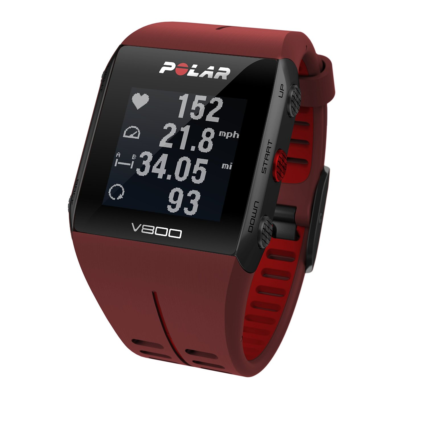 Polar V800 Waterproof Sports Watch with GPS Functionality