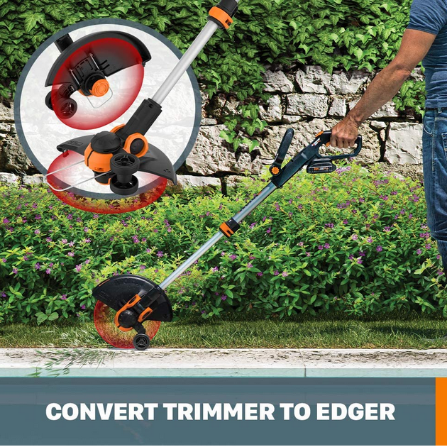 "WORX PowerShare 12"" Cordless String Trimmer & Edger"