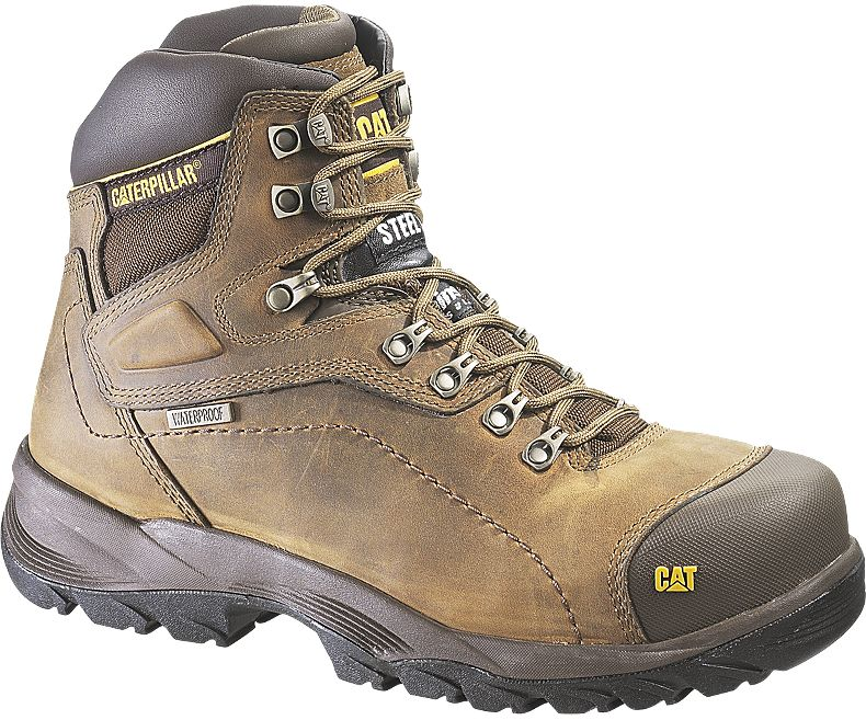 Caterpillar Diagnostic Steel Toe Boots
