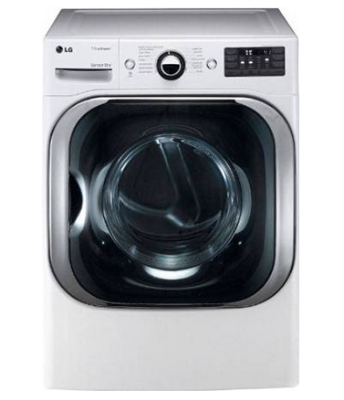 LG Mega Capacity Gas Dryer with Steam™ Technology