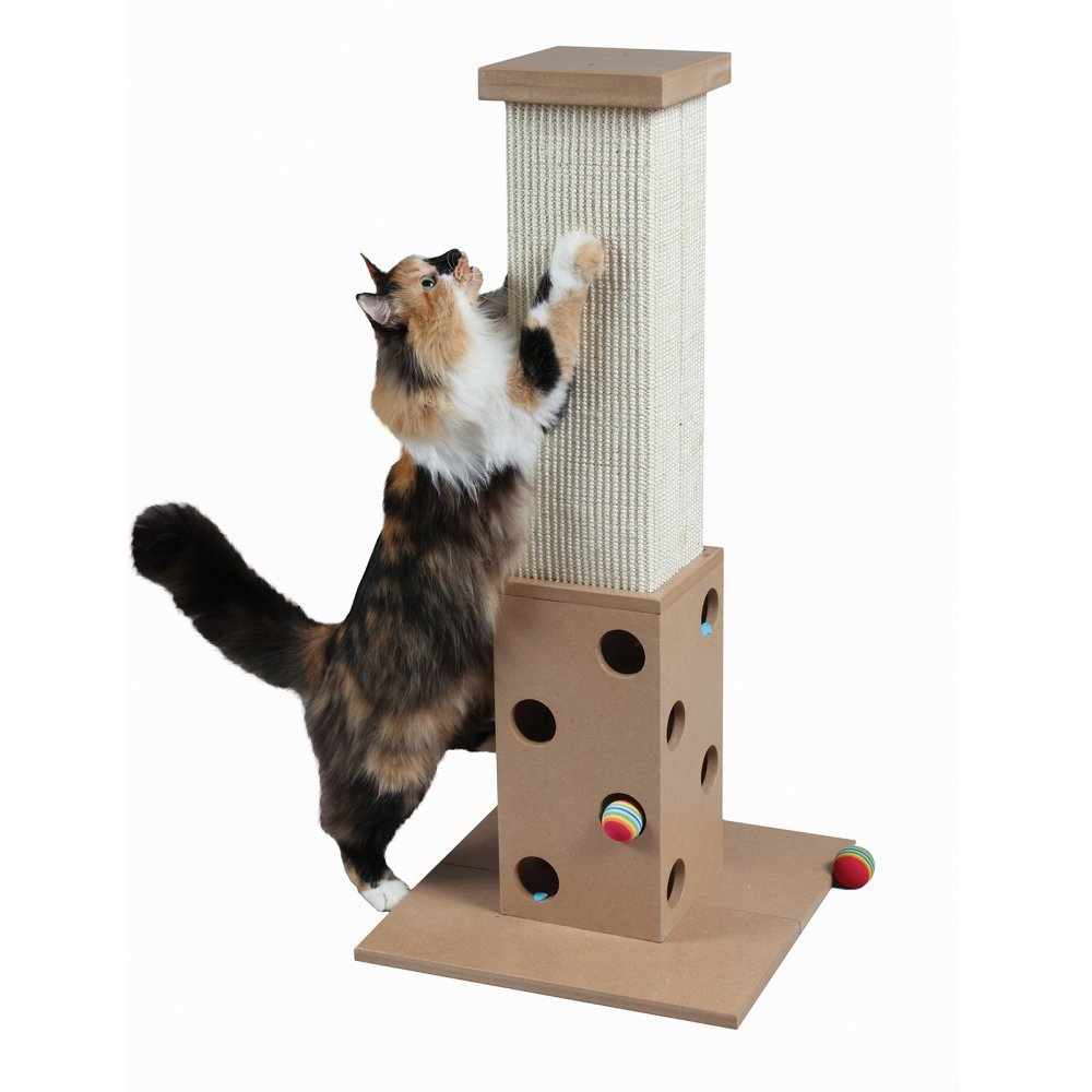 Pioneer Pet SmartCat The Ultimate Scratching Post – Sisal Fiber, Available in 2 Sizes and Colors