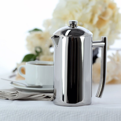 Frieling USA Double Wall Stainless Steel French Coffee Press