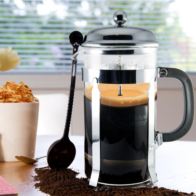 Kitchen Supreme French Coffee Press and Tea Maker