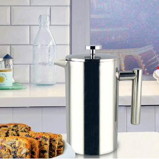 SterlingPro Double Wall Stainless Steel French Coffee Press