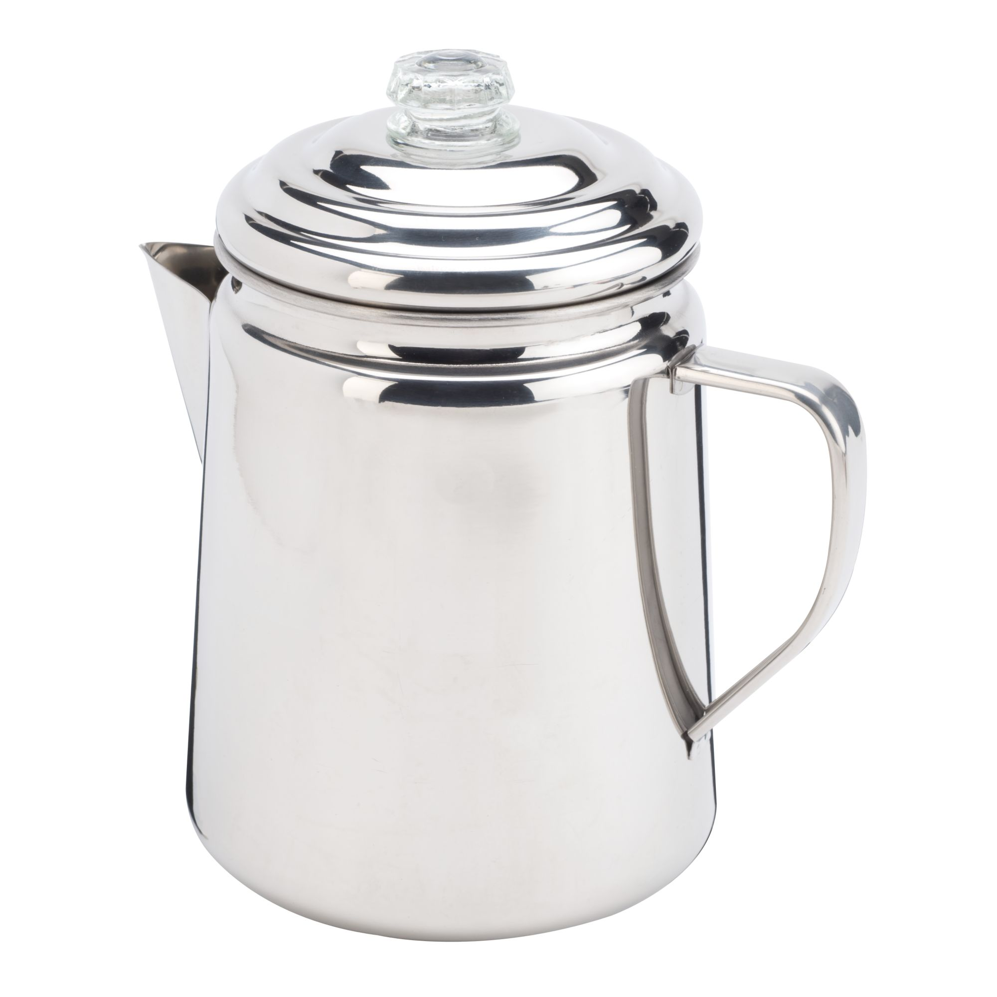 Coleman 12-Cup Stainless Steel Percolator