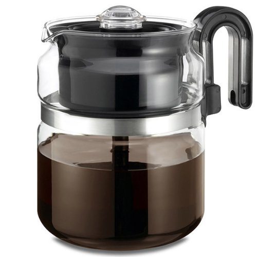 Medelco® 8-Cup Glass Stovetop Percolator