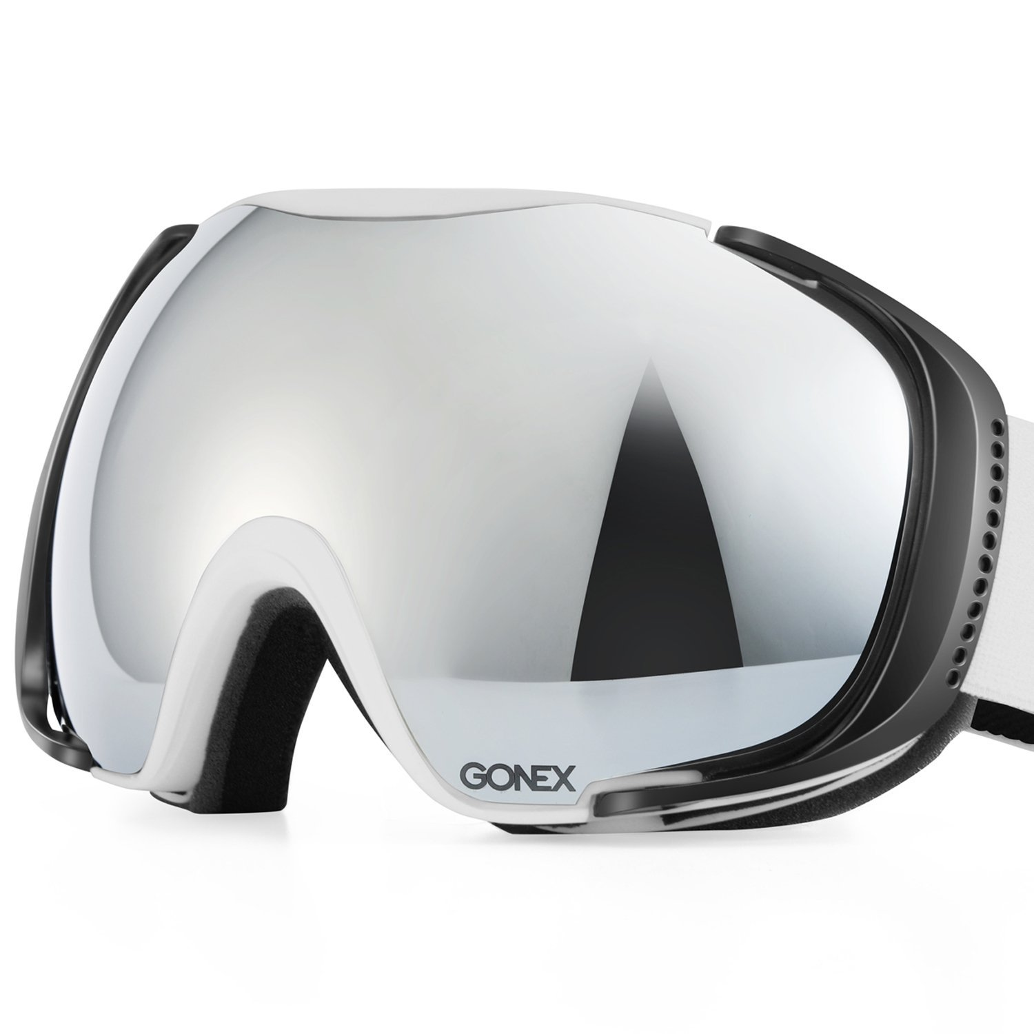 Gonex Polarized Snow Goggles with Oversized Double Spherical Lens For Men, Women and Youth – Available in 4 Colors