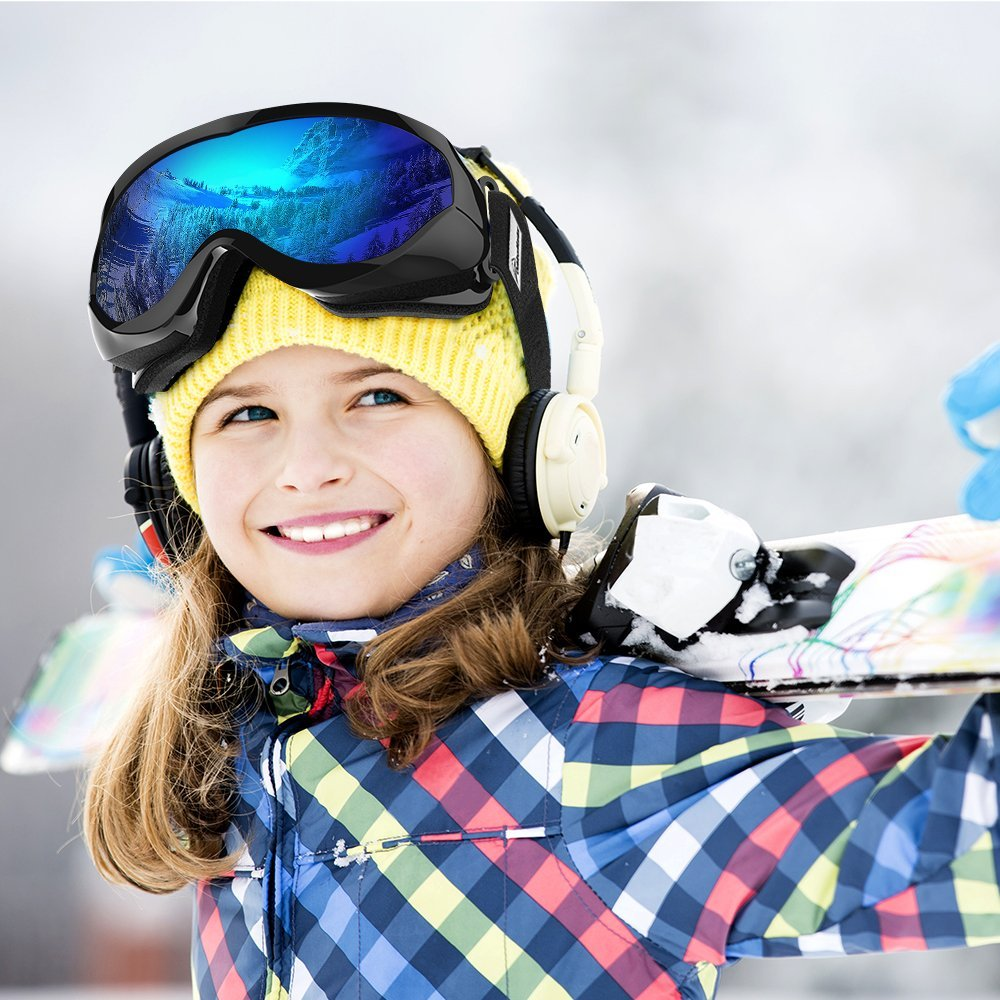 OutdoorMaster Kids' Ski Goggles