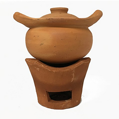 Ancient Cookware Thai Clay Hot Pot