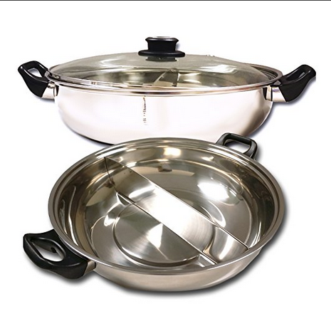 Sonya Electric Mongolian Hot Pot With Divider
