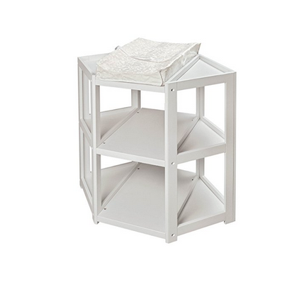 Badger Basket Diaper Corner Changing Table