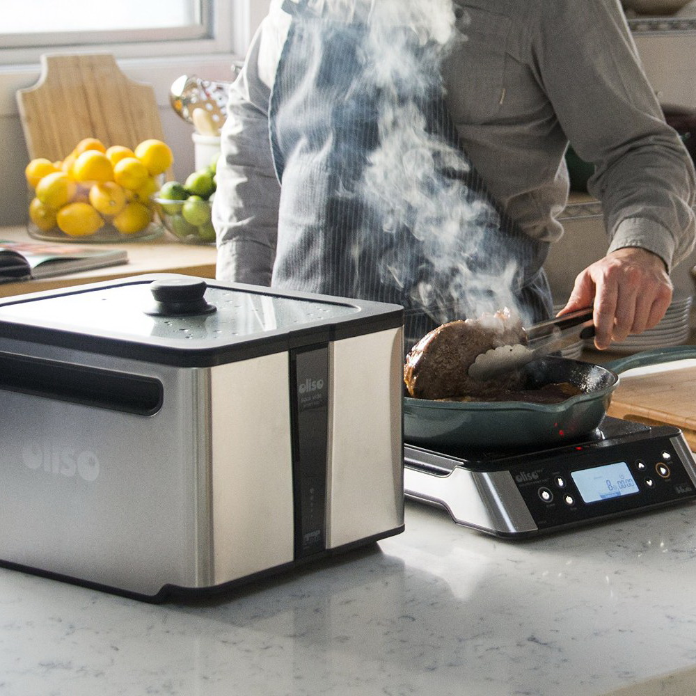 Oliso Pro Smart Hub Induction Cooktop with Precision Smart Top