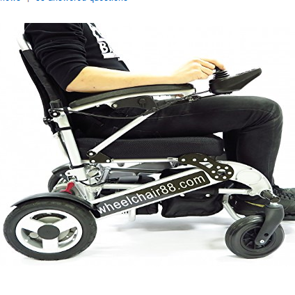 Wheelchair88 Foldawheel Lightweight Powered Wheelchair- PW-1000XL